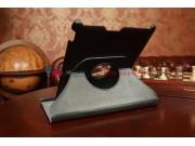 Чехол для Asus Memo Pad FHD 10 ME302C поворотный черный кожаный..