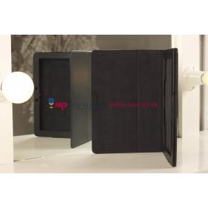 """Чехол-обложка для Asus MeMo Pad Smart ME301T/ME301TG черный кожаный """"Prestige"""""""
