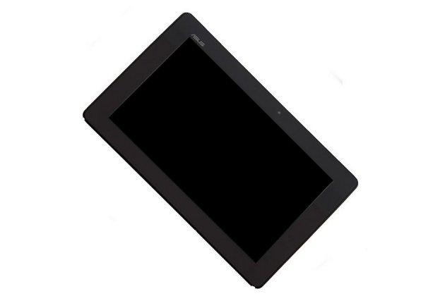 Фирменный LCD-ЖК-сенсорный дисплей-экран-стекло с тачскрином на планшета Asus MeMo Pad Smart ME301T черный и инструменты для вскрытия + гарантия