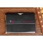 """Чехол для Asus MeMo Pad Smart ME301T/ME301TG черный кожаный """"Deluxe"""""""