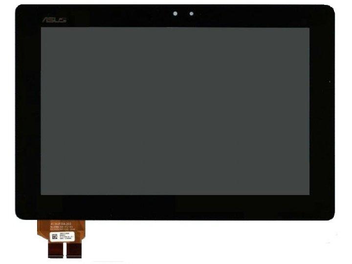 Фирменный LCD-ЖК-сенсорный дисплей-экран-стекло с тачскрином на планшета Asus Padfone 2 A68 черный и инструмен..