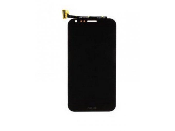 Фирменный LCD-ЖК-сенсорный дисплей-экран-стекло с тачскрином на телефон Asus Padfone 2 A68 черный и инструмент..