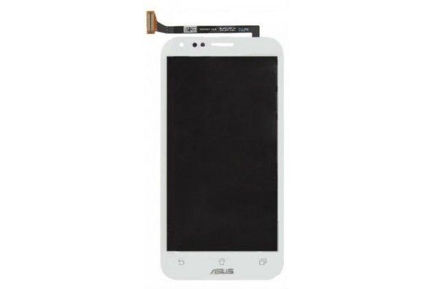 Фирменный LCD-ЖК-сенсорный дисплей-экран-стекло с тачскрином на телефон Asus PadFone Infinity A86 белый и инструменты для вскрытия + гарантия