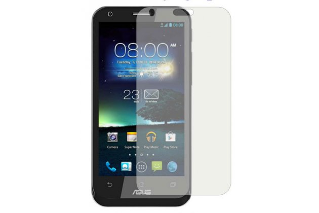 Фирменная защитная пленка для телефона Asus PadFone 2 A68 матовая