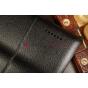 """Фирменный чехол для Asus Padfone 3 Infinity A80 черный натуральная кожа """"Deluxe"""" Италия"""