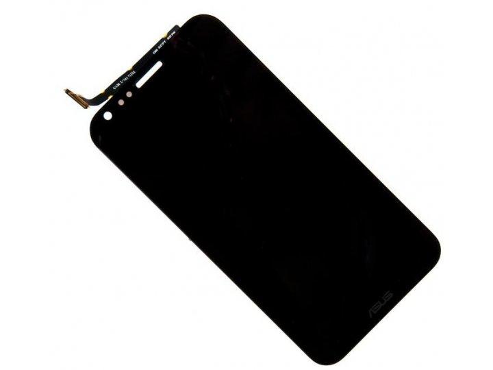Фирменный LCD-ЖК-сенсорный дисплей-экран-стекло с тачскрином на телефон Asus PadFone Infinity A86 черный и инс..