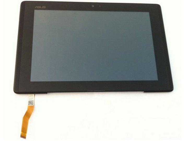 Фирменный LCD-ЖК-сенсорный дисплей-экран-стекло с тачскрином на планшета Asus Padfone 1 A66 черный и инструмен..