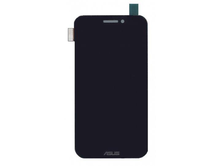 Фирменный LCD-ЖК-сенсорный дисплей-экран-стекло с тачскрином на телефон Asus Padfone 1 A66 черный и инструмент..