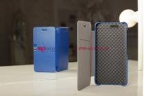 """Фирменный чехол-книжка для телефона Asus Padfone 3 Infinity A80 синий натуральная кожа """"Prestige"""" Италия"""
