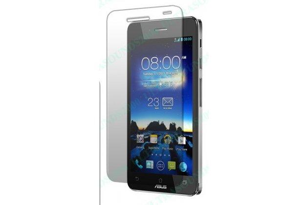 Фирменная защитная пленка для телефона Asus PadFone 3 Infinity A80 матовая