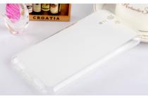Фирменная ультра-тонкая полимерная из мягкого качественного силикона задняя панель-чехол-накладка для Asus Padfone S 5 PF500KL белая
