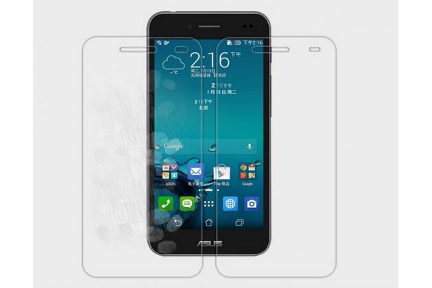Фирменная защитная пленка для телефона Asus Padfone S 5 PF500KLматовая