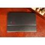 Фирменный чехол для Asus EEE Pad Transformer TF101/TF101G черный кожаный