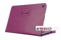 Чехол для ASUS Transformer Book T100 Chi / T1 Chi фиолетовый кожаный