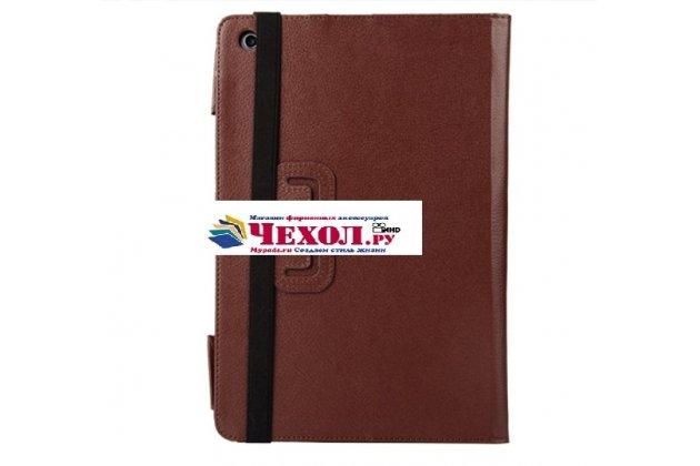 Чехол для ASUS Transformer Book T100 Chi / T1 Chi коричневый кожаный