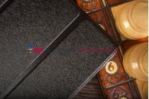 """Фирменный умный чехол самый тонкий в мире для Asus Transformer Book T100TA """"Il Sottile"""" черный пластиковый Италия"""