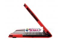 Чехол для ASUS Transformer Book T100 Chi / T1 Chi красный кожаный