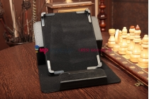 Чехол-обложка для Asus Transformer Pad FHD черный кожаный