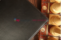 """Фирменный чехол для ASUS Transformer Pad Infinity TF701T черный кожаный """"Deluxe"""""""