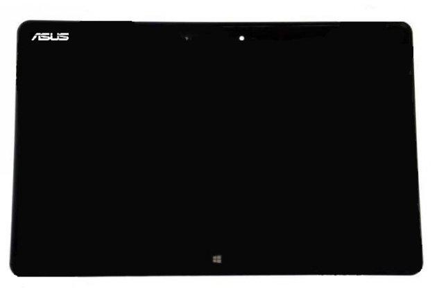 Фирменный LCD-ЖК-сенсорный дисплей-экран-стекло с тачскрином на планшета Asus VivoTab RT TF600T/TF600TG черный и инструменты для вскрытия + гарантия