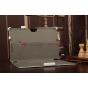 Чехол для Asus VivoTab Smart ME400C/ME400CL с мульти-подставкой и держателем для руки белый кожаный