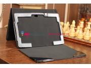 Чехол для Asus VivoTab Smart ME400C/ME400CL черный с секцией под клавиатуру кожаный..