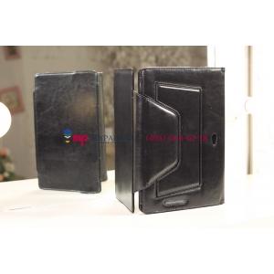 Чехол для Asus VivoTab Smart ME400C/ME400CL черный с секцией под клавиатуру кожаный