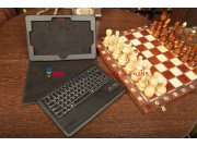 Фирменный оригинальный чехол со съёмной Bluetooth-клавиатурой для Asus VivoTab Smart ME400C/ME400CL черный кож..