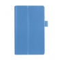 Чехол для Asus ZenPad 7.0 Z370C/Z370CG/Z370KL голубой кожаный..