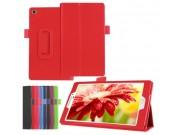 Чехол для Asus ZenPad 7.0 Z370C/Z370CG/Z370KL красный кожаный..