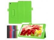 Чехол для Asus ZenPad 7.0 Z370C/Z370CG/Z370KL зеленый кожаный..