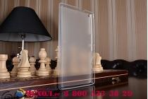 """Фирменная ультра-тонкая полимерная из мягкого качественного силикона задняя панель-чехол-накладка для Asus Zenpad 8.0 Z380 Z380KL Z380C Z380KNL P024"""" белая"""