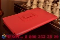 Чехол для Asus ZenPad 8 Z380C/Z380KL красный кожаный