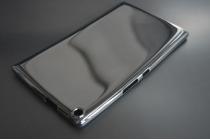 """Фирменная ультра-тонкая полимерная из мягкого качественного силикона задняя панель-чехол-накладка для Asus Zenpad 8.0 Z380 Z380KL Z380C Z380KNL P024"""" черная"""
