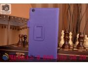 Фирменный чехол бизнес класса для Asus ZenPad C 7.0 Z170C/Z170CG/Z170MG с визитницей и держателем для руки фио..