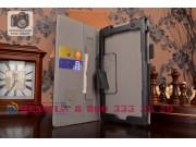 Фирменный чехол обложка для Asus ZenPad C 7.0 Z170C/Z170CG/Z170MG с визитницей и держателем для руки черный на..