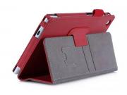Фирменный чехол бизнес класса для Asus ZenPad C 7.0 Z170C/Z170CG/Z170MG с визитницей и держателем для руки кра..