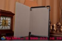 """Фирменный умный чехол-книжка самый тонкий в мире для Asus ZenPad S 8.0 Z580CA/Z580C  """"Il Sottile"""" зеленый кожаный"""