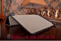 """Фирменный умный чехол самый тонкий в мире для планшета Asus ZenPad S 8.0 Z580CA/Z580C """"Il Sottile"""" черный кожаный"""