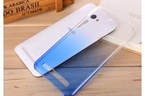 """Фирменная из тонкого и лёгкого пластика задняя панель-чехол-накладка для Asus Zenfone 2 5.5"""" ZE550/ZE551ML прозрачная с эффектом дождя"""