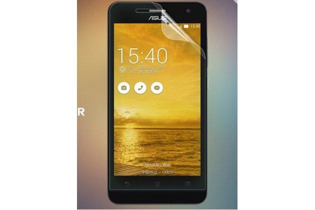 Фирменная оригинальная защитная пленка для телефона Asus Zenfone 5 Lite A502CG глянцевая