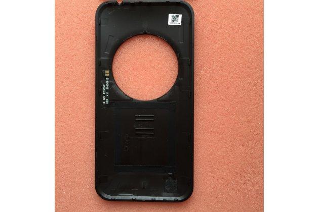 Родная оригинальная задняя крышка-панель которая шла в комплекте для  ASUS ZenFone Zoom ZX551ML / ZX550ML черная