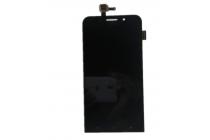 Фирменный LCD-ЖК-сенсорный дисплей-экран-стекло с тачскрином на телефон Asus Zenfone Max ZC550KL/ 2 MAX 5.5 черный + гарантия