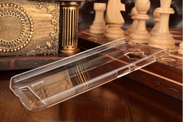 Фирменная ультра-тонкая пластиковая задняя панель-чехол-накладка для Asus Zenfone Max ZC550KL/ 2 MAX 5.5 прозрачная