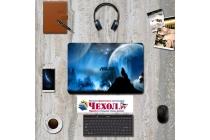 Фирменная оригинальная защитная пленка-наклейка с 3d рисунком тематика Волк на твёрдой основе, которая не увеличивает планшет в размерах для ASUS Transformer 3 T305CA (GW014T) 12.6