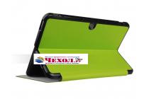 """Фирменный умный чехол самый тонкий в мире для  ASUS Transformer Mini T1002HA/T102HA"""" зеленый пластиковый Италия"""