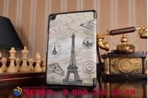 "Фирменный необычный чехол для  ASUS ZenPad Z8 Z581KL 7.9"" ""тематика Париж"""