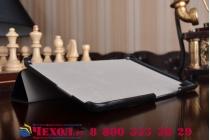 """Фирменный умный чехол-книжка самый тонкий в мире для ASUS ZenPad Z8 Z581KL 7.9"""" """"Il Sottile"""" черный кожаный"""