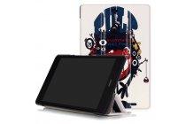 """Фирменный уникальный необычный чехол-книжка для ASUS ZenPad Z8 Z581KL 7.9"""" """"тематика Инопланетянин"""""""