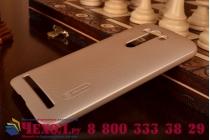 """Фирменная задняя панель-крышка-накладка из тончайшего и прочного пластика для ASUS Zenfone 2 Lazer ZE550KL 5.5""""  золотая"""